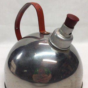 Vintage Revere Ware Tea Kettle Orange Handle